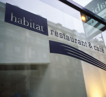 Habitat Restaurant & Café - Identity, Food Culture - Marco Strina