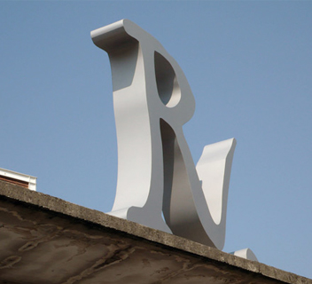Ex Richard Ginori - Segnaletica interna - Retail - Marco Strina - Graphic Design
