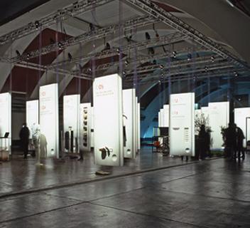 Wallpaper Limitless Luxury - Exhibition - Marco Strina - Graphic Design