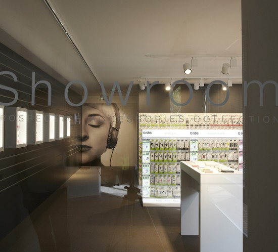 Sbs Showroom - Exhibition and Retail - Marco Strina