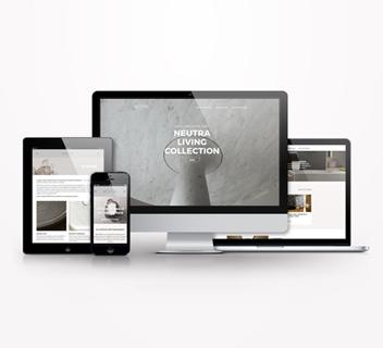 Neutra e Arnaboldi Marmi - Website - Marco Strina
